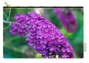 Butterfly Bush Garden Flower Carry-all Pouch