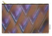 Purple Geometry - Abstract Carry-all Pouch