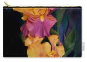 Purple Gold Irises  Carry-all Pouch