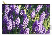 Purple Grape Hyacinth  Carry-all Pouch