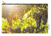 Purple Grapes In Sunshine Carry-all Pouch