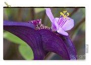 Purple Heart Flower Carry-all Pouch