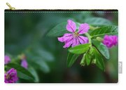 Purple Heather Carry-all Pouch