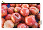 Purple Heirloom Tomatoes  Carry-all Pouch