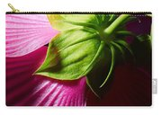 Purple Hibiscus Shot From Behind. Carry-all Pouch