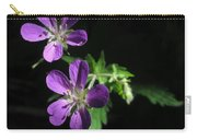 Purple Highlights Carry-all Pouch