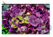 Purple Hortensia After Summer Rain Carry-all Pouch