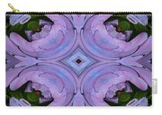 Purple Hydrangea Flower Abstract 2 Carry-all Pouch