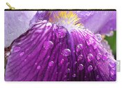 Purple Iris - 2 Carry-all Pouch