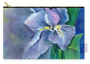 Purple Iris Blues Carry-all Pouch