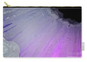 Purple Iris Ice Eye Carry-all Pouch