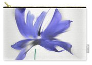 Purple Iris In The Greenery Carry-all Pouch