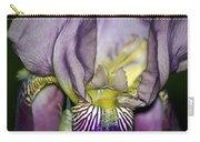 Purple Iris - Macro Carry-all Pouch
