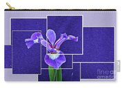 Purple Iris Montage Carry-all Pouch