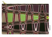 Purple Leaves Abstract Carry-all Pouch