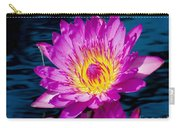 Purple Lily On The Water Carry-all Pouch
