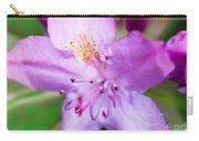 Purple Long Pistil Flower Carry-all Pouch