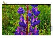 Purple Lupine On Campobello Island-new Brunswick  Carry-all Pouch