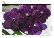 Purple Me Not Carry-all Pouch
