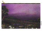 Purple Meadow Carry-all Pouch
