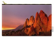 Purple Morning At Garden Of The Gods Carry-all Pouch