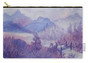 Purple Mountains Fantasy Carry-all Pouch