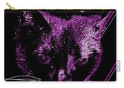 Purple Neon Cat Carry-all Pouch