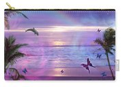Purple Ocean Dream Carry-all Pouch