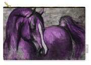 Purple One Carry-all Pouch by Angel  Tarantella