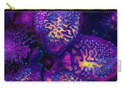 Purple Orchid Abstract Carry-all Pouch