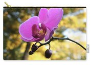 Purple Orchid In September Sun Carry-all Pouch