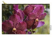 Purple Orchids With Bokeh Carry-all Pouch