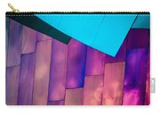 Purple Panels Carry-all Pouch