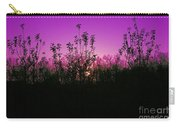 Purple Paradise Sunset By Diana Sainz Carry-all Pouch