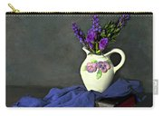 Purple Pardon Carry-all Pouch by Diana Angstadt