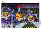 Purple Party People Carry-all Pouch