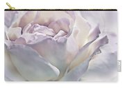 Purple Passion Pastel Rose Flower Carry-all Pouch