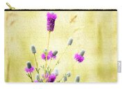 Purple Passion Texture Carry-all Pouch