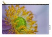 Purple Pastel Daisy Carry-all Pouch