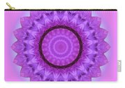 Purple Pink Kaleidoscope Carry-all Pouch