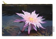 Purple Pink Yellow Waterlily... Carry-all Pouch