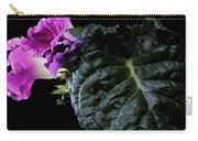 Purple Plant Carry-all Pouch