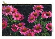 Purple Pow Echinacea  Carry-all Pouch
