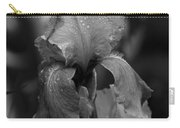 Purple Rain In Black And White Carry-all Pouch