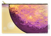 Purple Raindrop Carry-all Pouch