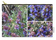 Purple Sage Collage Carry-all Pouch