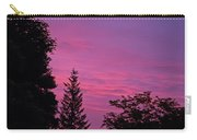 Purple Sky At Night Carry-all Pouch