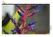 Purple Spike Bromeliad Carry-all Pouch