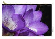Purple Springtime Carry-all Pouch