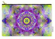Purple Star Yantra Mandala Carry-all Pouch
